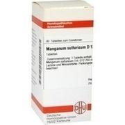 MANGANUM SULFURICUM D 12 Tabletten