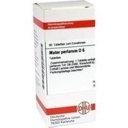 MATER PERLARUM D 6 Tabletten