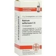 NATRIUM SULFURICUM C 6 Globuli