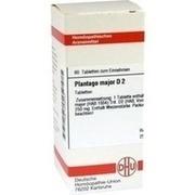 PLANTAGO MAJOR D 2 Tabletten