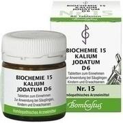 BIOCHEMIE 15 Kalium jodatum D 6 Tabletten