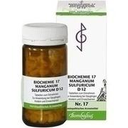 BIOCHEMIE 17 Manganum sulfuricum D 12 Tabletten