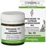 BIOCHEMIE 19 Cuprum arsenicosum D 6 Tabletten