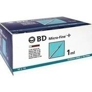 BD MICRO-FINE+ Insulinspr.1 ml U40 12,7 mm