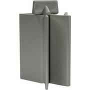 TUBENAUSPRESSER Aluminium eloxiert silberfarben