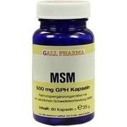 MSM 500 mg GPH Kapseln