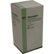 VLIWAKTIV Aktivkohle-Saugkomp.10x20 cm steril