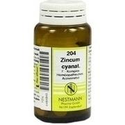 ZINCUM CYANATUM F Komplex Nr.204 Tabletten