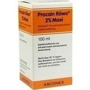 PROCAIN Röwo 2% Maxi Injektionsflaschen