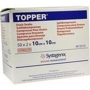TOPPER Schlitzkompr.10x10 cm steril