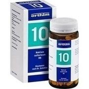 BIOCHEMIE Orthim 10 Natrium sulfuricum D 6 Tabl.
