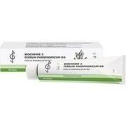 BIOCHEMIE 3 Ferrum phosphoricum D 6 Creme