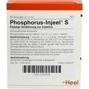 PHOSPHORUS INJEEL S Ampullen