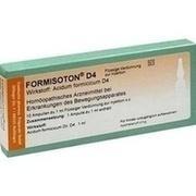 FORMISOTON D 4 Ampullen