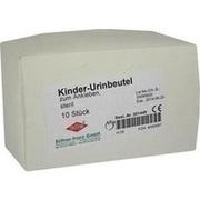 URIN AUFFANGBEUTEL steril 100 ml f.Kind z.Ankleben
