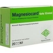 MAGNESIOCARD forte 10 mmol Plv.z.Her.e.Lsg.z.Einn.