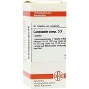 GUNPOWDER comp.D 3 Tabletten