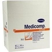 MEDICOMP extra Kompressen 10x10 cm steril