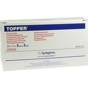 TOPPER Schlitzkompr.5x5 cm steril