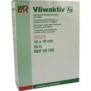 VLIWAKTIV AG Aktivkohle Saugkomp.m.Silber 10x10 cm