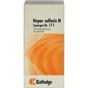 SYNERGON KOMPLEX 111 Hepar sulfuris N Tabletten