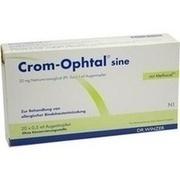 CROM-OPHTAL sine Augentropfen EDB