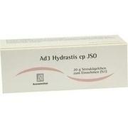 JSO Ad 3 Hydrastis cp Globuli
