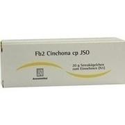 JSO Fb 2 Cinchona cp Globuli