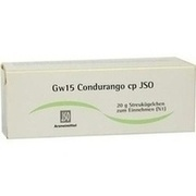 JSO Gw 15 Condurango cp Globuli