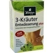 KNEIPP 3-Kräuter Entwässerung Kapseln