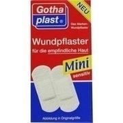 GOTHAPLAST Wundpfl.Mini sensitiv 1,7x4 cm