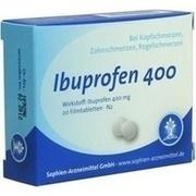 IBUPROFEN Sophien 400 Filmtabletten