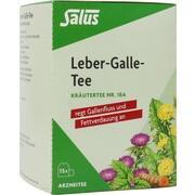 LEBER GALLE-Tee Kräutertee Nr.18a Salus Filterbtl.
