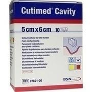 CUTIMED Cavity Schaumverb.5x6 cm nicht haftend