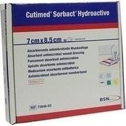 CUTIMED Sorbact Hydroactive Kompressen 7x8,5 cm