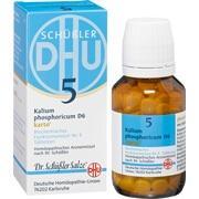 BIOCHEMIE DHU 5 Kalium phosphoricum D 6 Tab.Karto