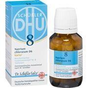 BIOCHEMIE DHU 8 Natrium chloratum D 6 Tabl.Karto