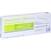 OMEPRAZOL 1A Pharma 20 mg bei Sodbrennen HKM