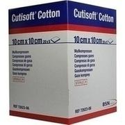 CUTISOFT Cotton Kompr.10x10 cm 12fach