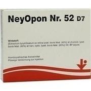 NEYOPON Nr.52 D 7 Ampullen