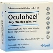 OCULOHEEL Augentropfen ad us.vet.Einzeldosispip.