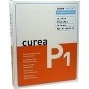 CUREA P1 superabsorb.Wundauflage 10x10 cm