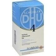 BIOCHEMIE DHU 4 Kalium chloratum D 6 Tabletten