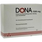 DONA 1500 mg Plv.z.Her.e.Lsg.z.Einnehmen Beutel
