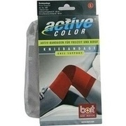 BORT ActiveColor Kniebandage L rot