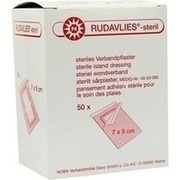 RUDAVLIES-steril Verbandpflaster 5x7 cm