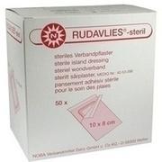 RUDAVLIES-steril Verbandpflaster 8x10 cm