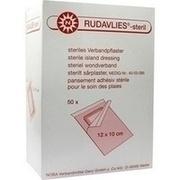 RUDAVLIES-steril Verbandpflaster 10x12 cm