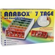 ANABOX 7 Tage Regenbogen m.Einnahmeplan