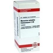 MERCURIUS SOLUBILIS Hahnemanni C 30 Tabletten